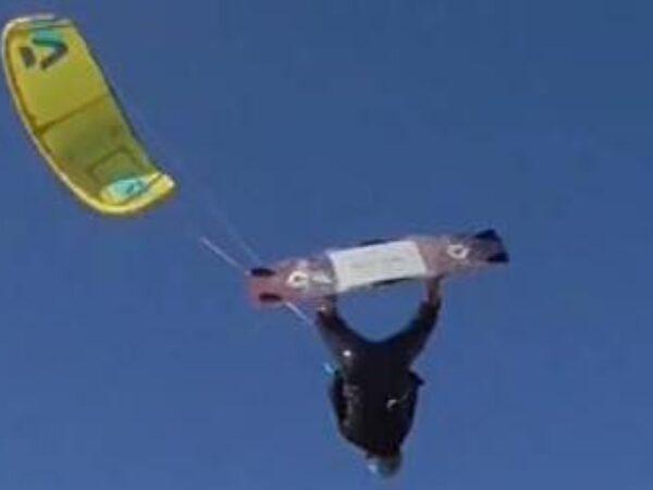 Francesca Bagnoli, madrina dell'Engie Kitesurf Challenge